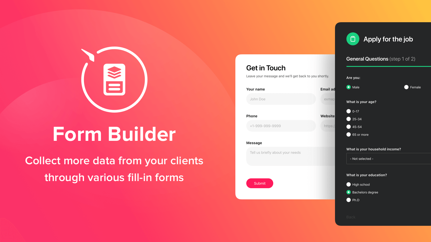 Introduction to PresideCMS form builder